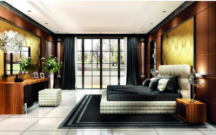 Asnaghi Interiors - Corallo sleeping room