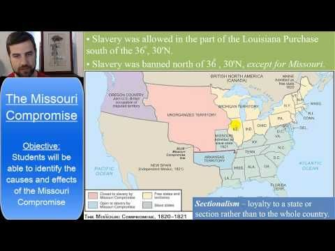 the outcomes of the missouri compromise and the compromise of 1850 The effects of the compromise of 1850 were the civil war, no slave trade in washington dc, california resulting as a free state, rising tensions over slavery.