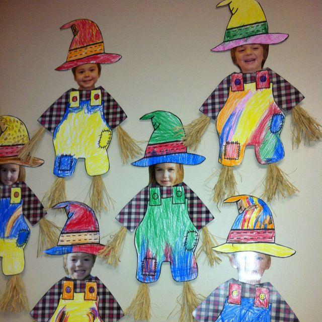Scarecrow preschool craft