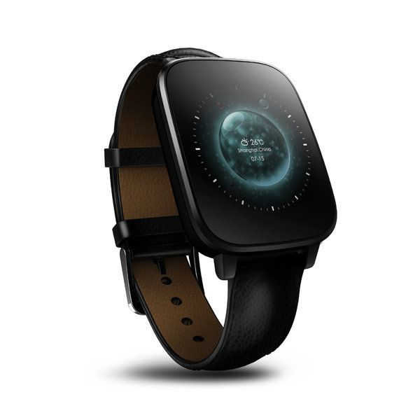 US Direct | Zeblaze Crystal Curved 1.54Inch HRM Heart Rate Monitor MTK2502 Bluetooth IP65 Sm