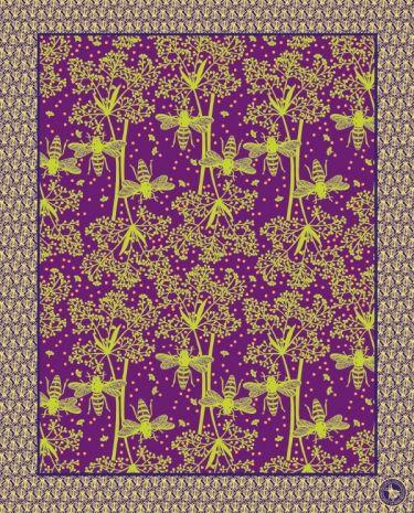 """""""Frammento"""" di wallpaper, come quadri: Butine."""