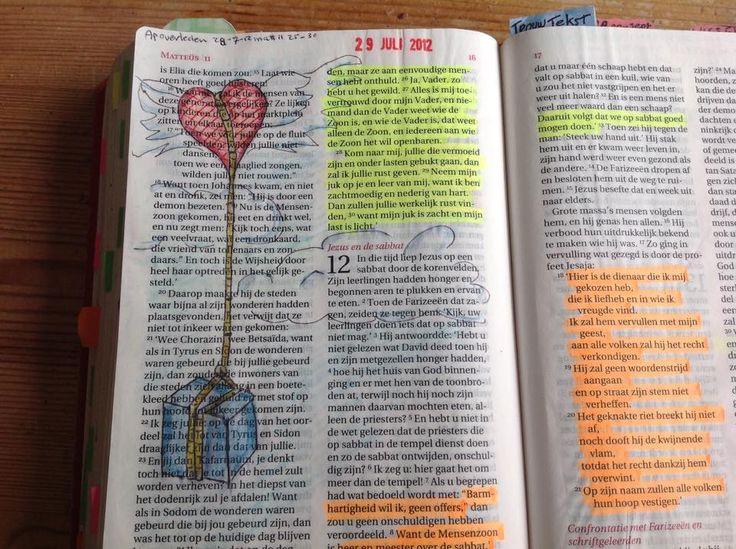 Matt 11:28-30 Komt naar mij, jullie die vermoeid zijn en onder lasten gebukt gaan, dan zal ik jullie rust geven. Neem mijn juk op je en leer van mij, want ik ben zachtmoedig en nederig van hart. Dan zullen jullie werkelijk rust vinden, want mijn juk is zacht en mijn last is licht.  Laat je problemen dus bij God en blijf en niet mee rondzeulen. C vd Berg Gouda