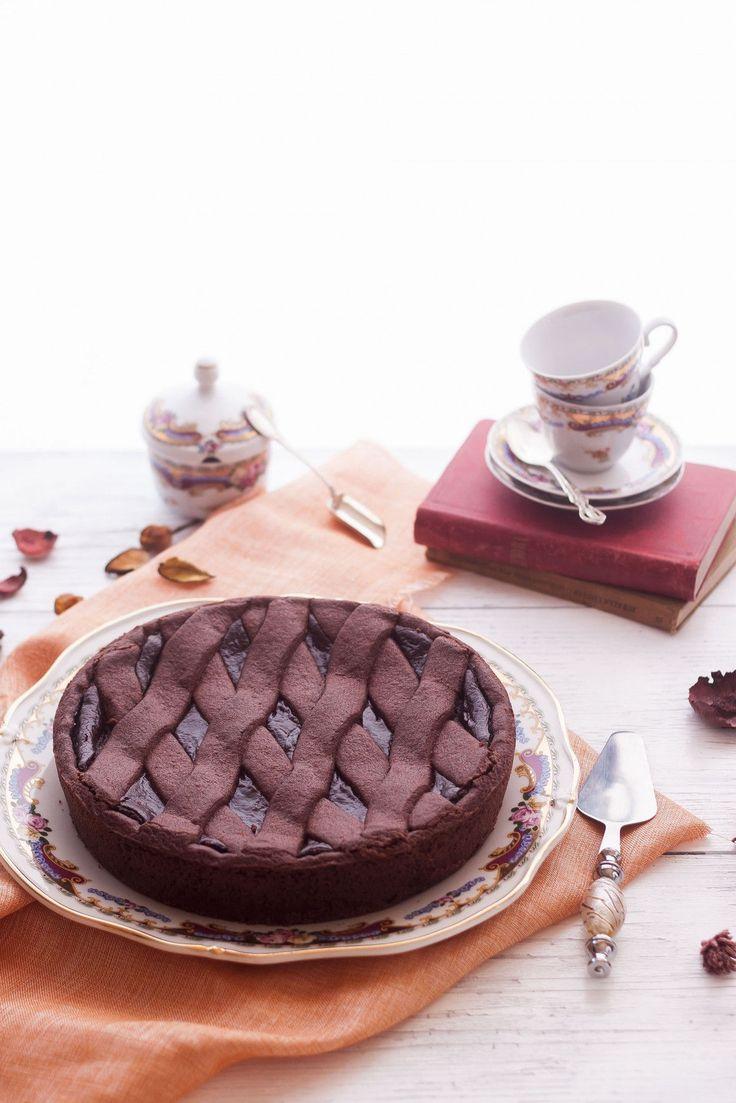 crostata al cioccolato ernst knam verticale