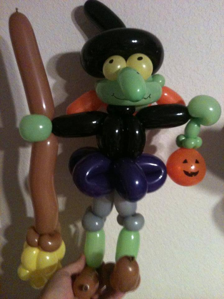 59 best Halloween balloon figures images on Pinterest ...
