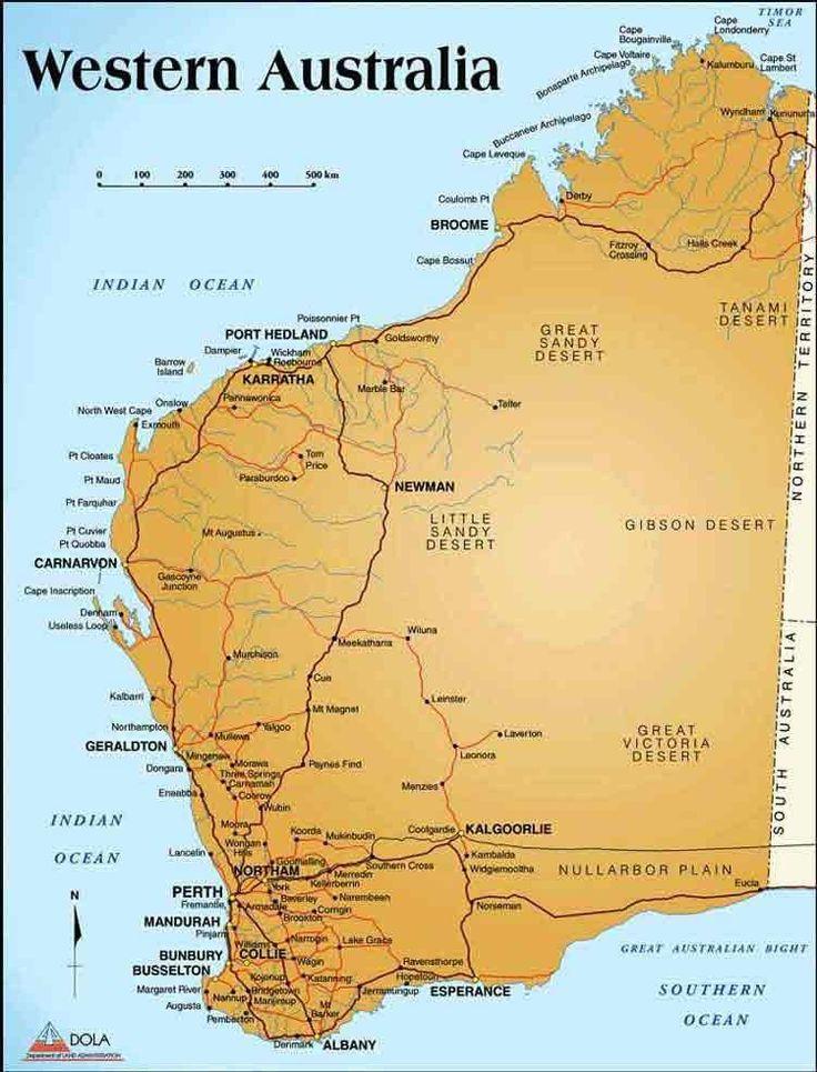 Best Western Australia Images On Pinterest Western Australia - Map of wa