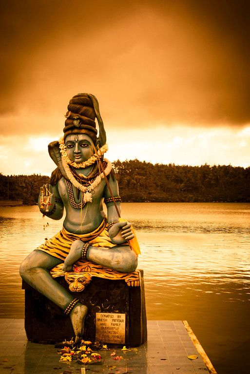 """Visit the Sacred Lake of Grand Bassin while you stay at Shanti Maurice in Mauritius. Shiva  Shiva """"The Auspicious One"""" is a popular Hindu deity and considered the Supreme God within Shaivism, one of the three most influential denominations in Hinduism."""