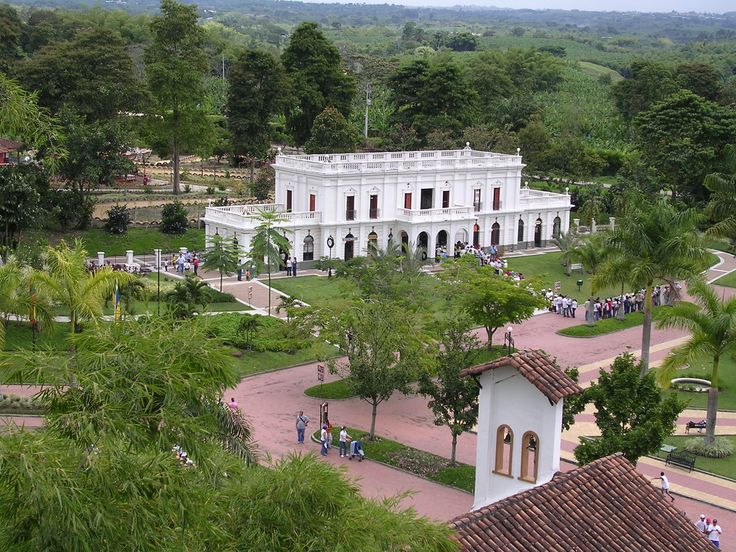 Coffee park in Quindio, Colombia