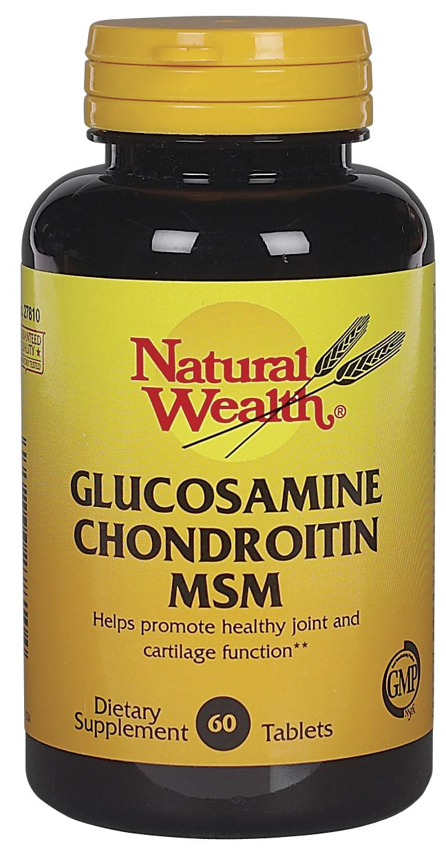 Glucosamine chondroitin for back pain