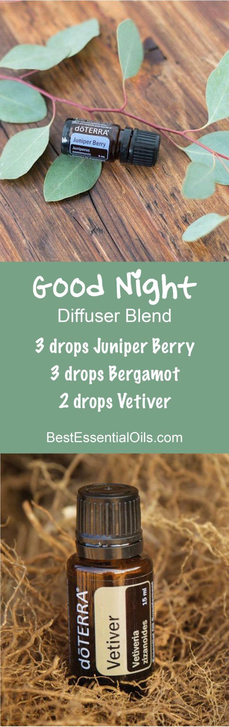 Good Night doTERRA Diffuser Blend