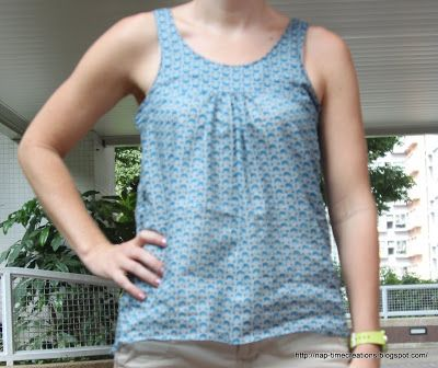 Free tank top pattern - Nap-time Creations