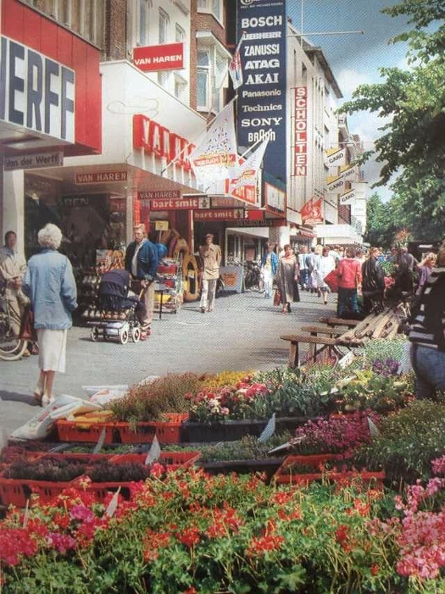Vismarkt Groningen jaren '80
