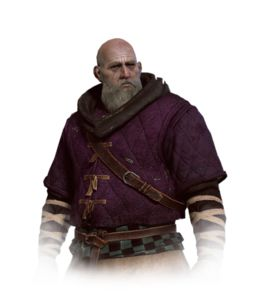 Could be a commoner or noble....  'Warlord [Madman Lugos | Witcher Wiki | Fandom powered by Wikia]