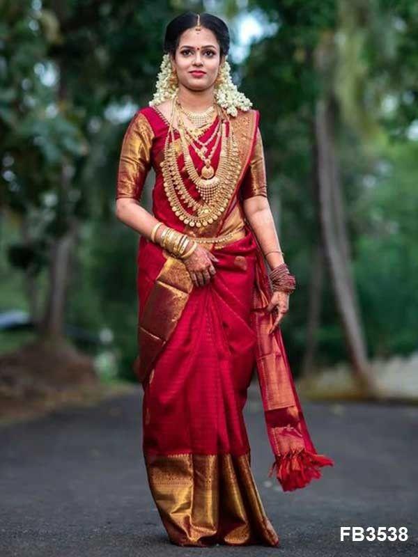 Kanchipuram Saree and blouse for women designer saree traditional saree saree dress light pink saree sari wedding saree Indian saree