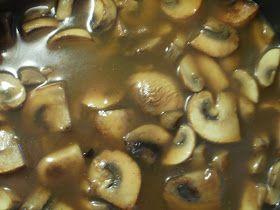 Jager Mushroom Sauce for Jager Schnitzel ♡♡♡