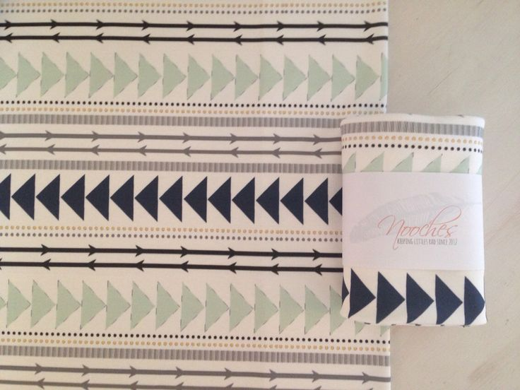 Mint and Navy Tribal Lines Organic Swaddling Blanket by Nooches on Etsy https://www.etsy.com/listing/198070153/mint-and-navy-tribal-lines-organic