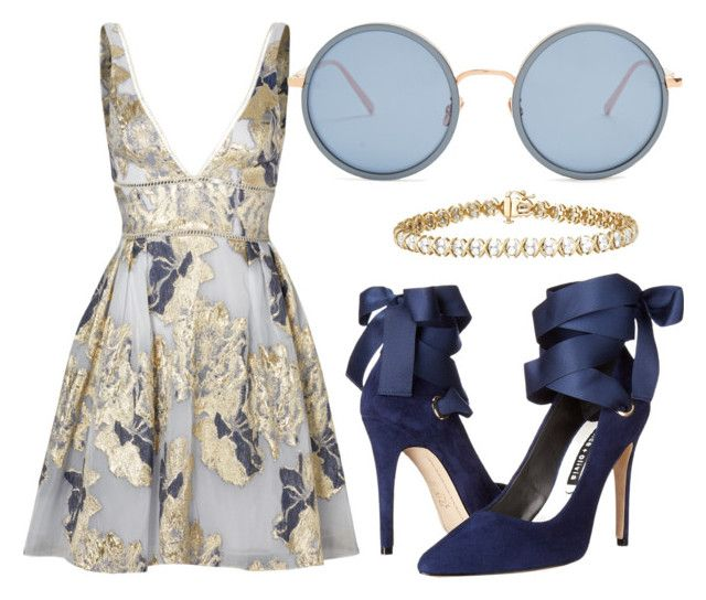 """""""Untitled #015"""" by liaperezmorales on Polyvore featuring Notte by Marchesa, Alice + Olivia and Linda Farrow"""