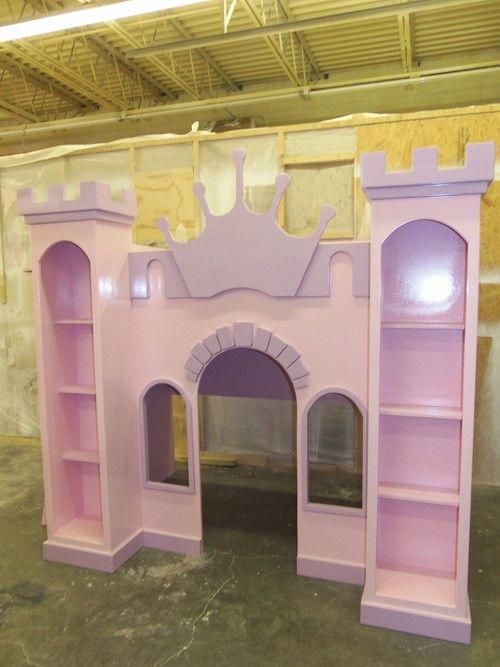 New custom princess samantha castle bed/indoor playhouse in 2018