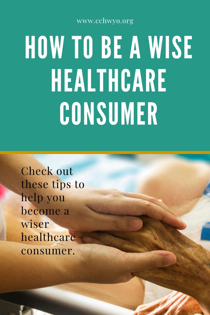 February is national wise health care consumer month and