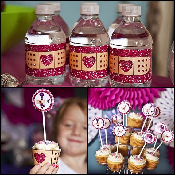 Doc McStuffins Printable Birthday Party Supplies Printables Package With Labels Wrappers And Toppers