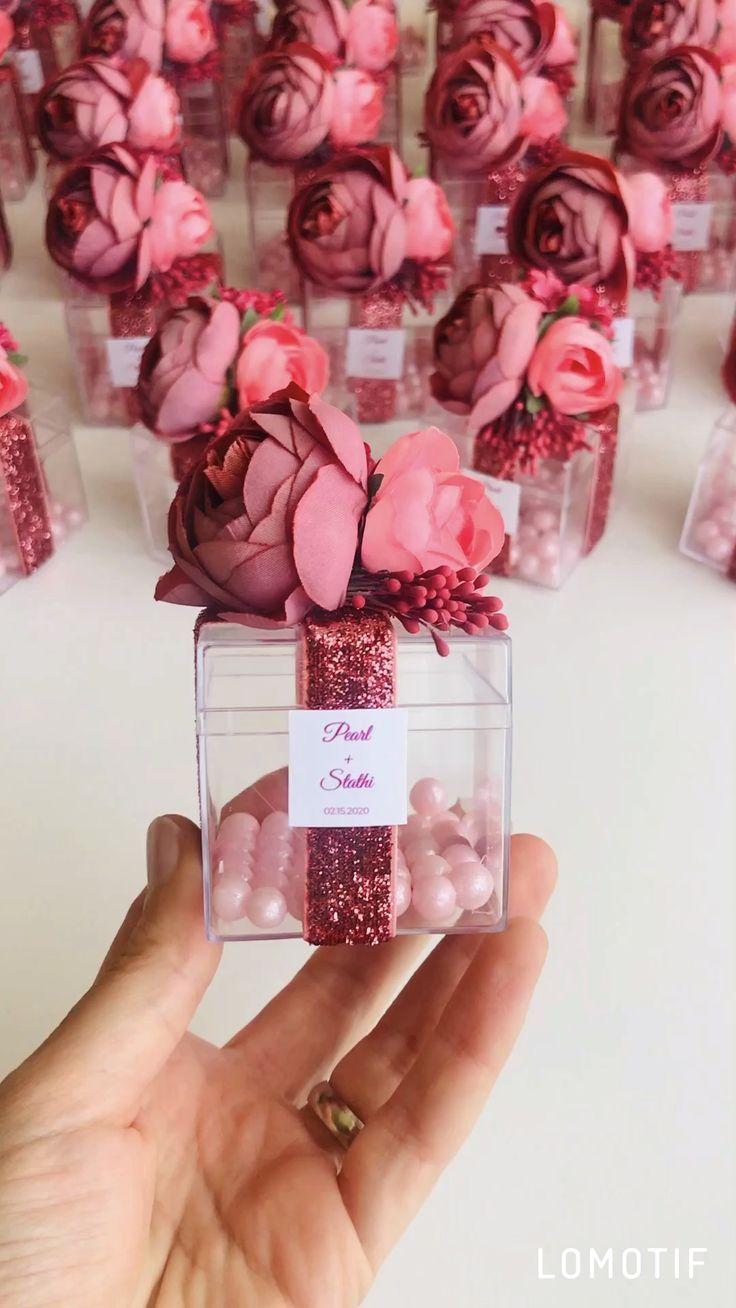 10pcs Wedding Favors For Guests Wedding Favor Boxes Blush Etsy Etsy Wedding Favors Wedding Favors For Guests Wedding Gift Favors