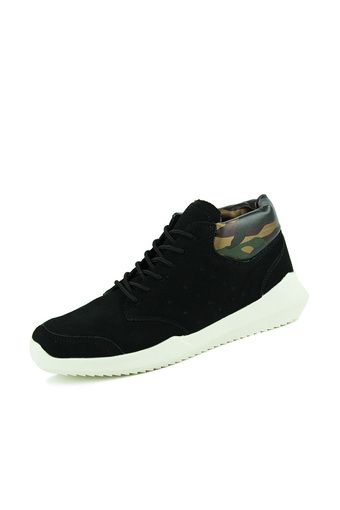Men Sneakers Casual Sport Shoes Men's Trainers Suede Sneakers (Black) (Intl) | ราคา: ฿1,133.80 | Brand: Unbranded/Generic | See info: http://www.topsellershoes.com/product/20655/men-sneakers-casual-sport-shoes-mens-trainers-suede-sneakers-black-intl