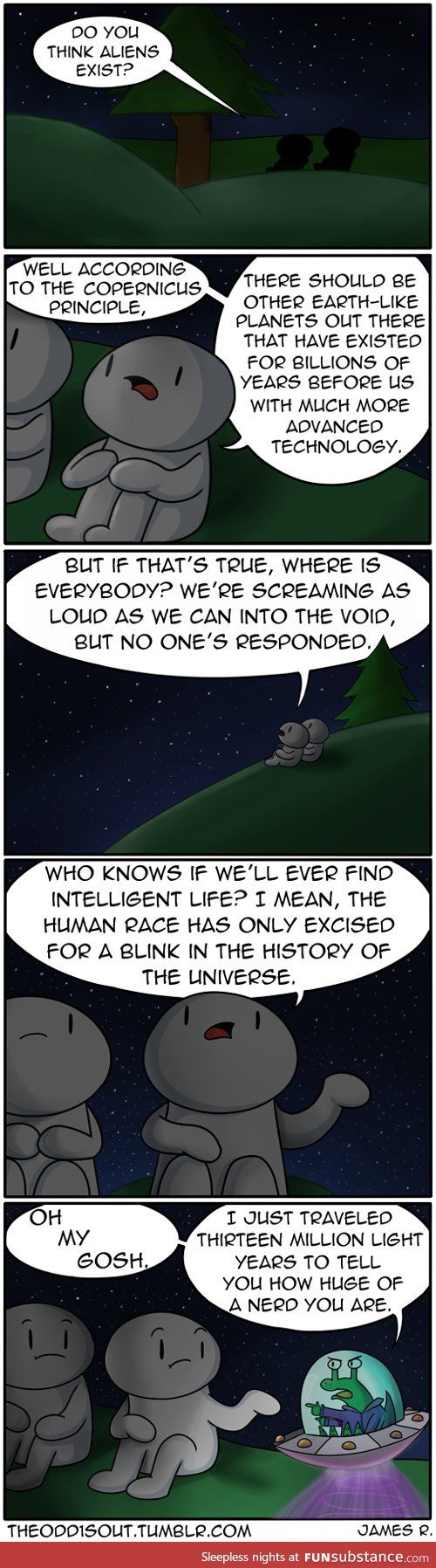 Do you believe aliens essay