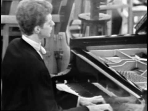 Van Cliburn plays Beethoven Piano Concerto No.5 Adiago (2nd movement) in Moscow, 1962. // I think this is one of the most beautiful pieces of music ever composed...there are no words to describe my emotions when I hear this piece. //  I'm sure there are cleaner videos out there but Van Cliburn was such a virtuoso. // If you have 8 minutes, I hope you will listen.