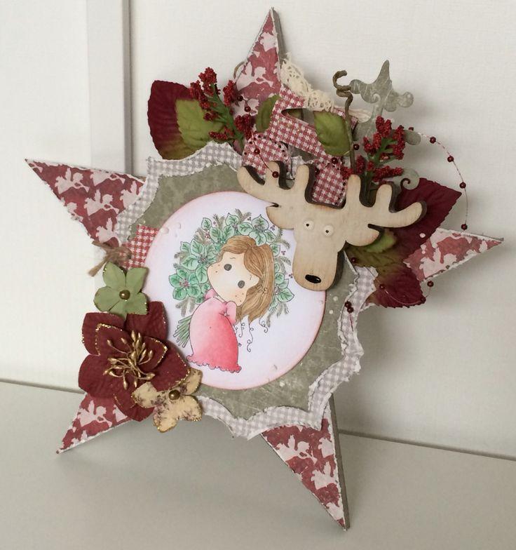 Christmas ornament using Maja Design moodboard november 2015.  @majadesign #majadesign