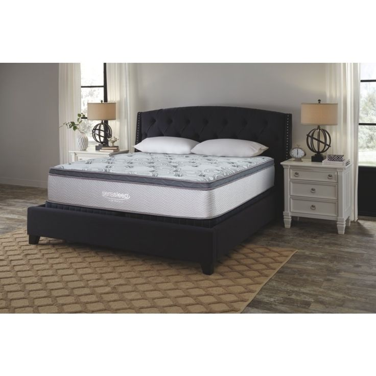 Signature Design By Ashley M89941 Augusta Bed Mattress Conventional King White Gt Gt Gt Many Thanks