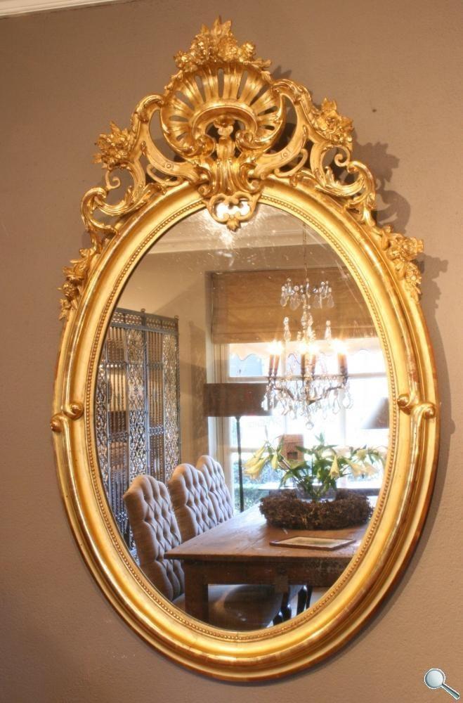 Antike französische Spiegel