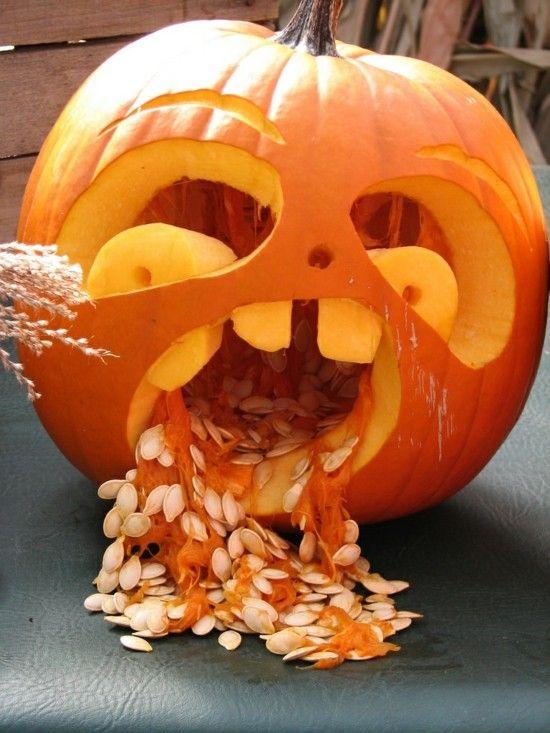 Kürbis Schnitzen Ideen.30 Ideen Zum Halloween Kürbis Schnitzen Halloween Ideen