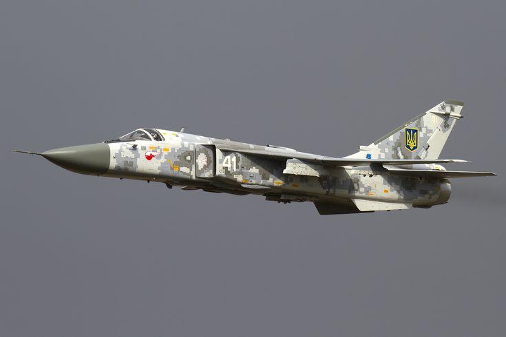 Ukraine Air Force Su-24.