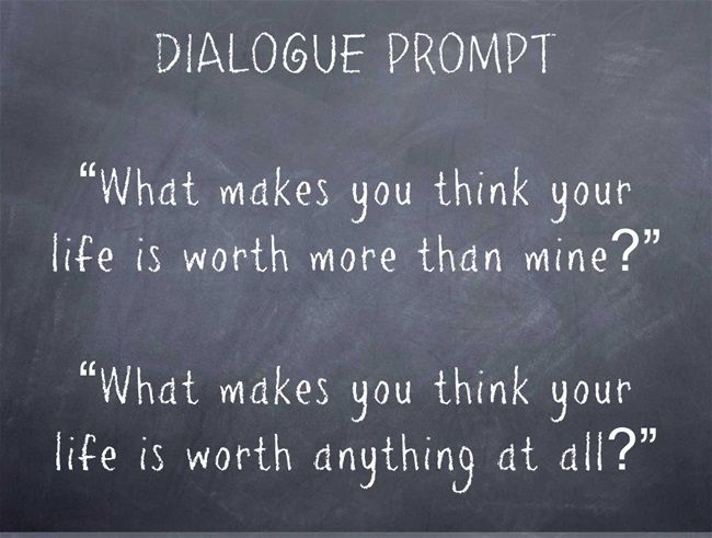 creative writing prompts using dialogue Tips and ideas for writing romantic dialogue tips and ideas for writing romantic dialogue %%onoff%% est writeitnow 5 - creative writing software for.