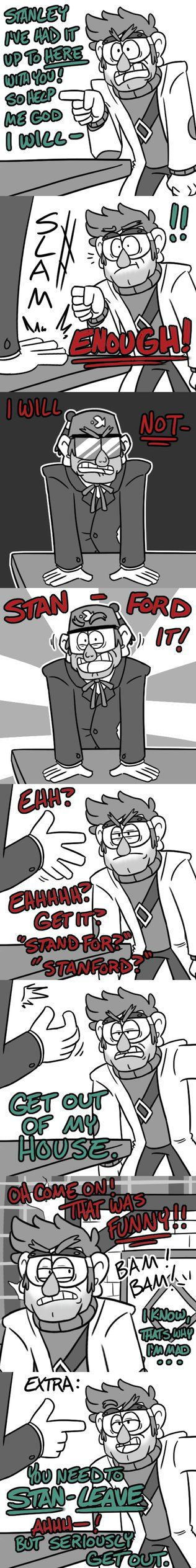 The Pines twins puns XD