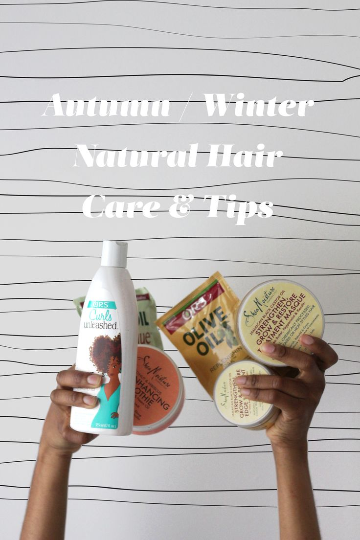 Autumn / Winter Natural Hair Care & Tips www.inmysundaybest.com @inmysundaybest #naturalhair #sheamoisture #ors