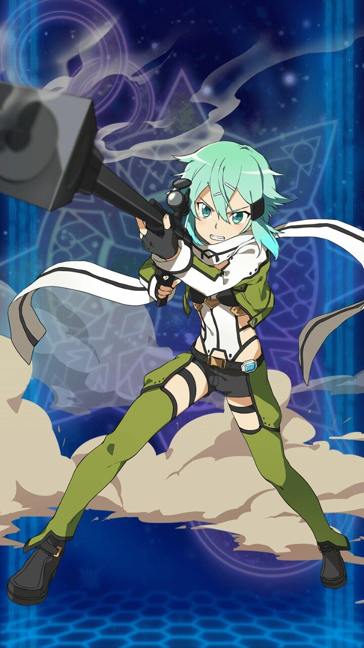 Sinon - Sword Art Online ~ DarksideAnime
