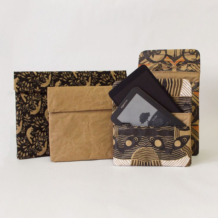 Wren is a design and manufacturing studio located in Cape Town, South Africa that produces lifestyle accessories such as bags and laptop sleeves that are hand made from recycled cement paper that is fused to cotton for strength and coated with Nano liquid glass to be water resistant.