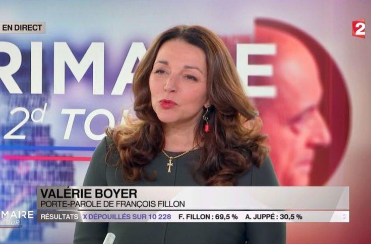 Valérie Boyer sur France 2, le 27 novembre 2016 Isabelle Morini-Bosc ;Comment Valérie Boyer a-t-elle osé porter une croix ?