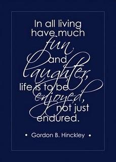 President Hinckley quote