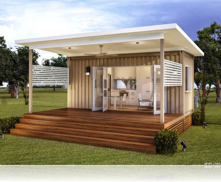 Granny flats prefab container home house renovation for Granny cabins