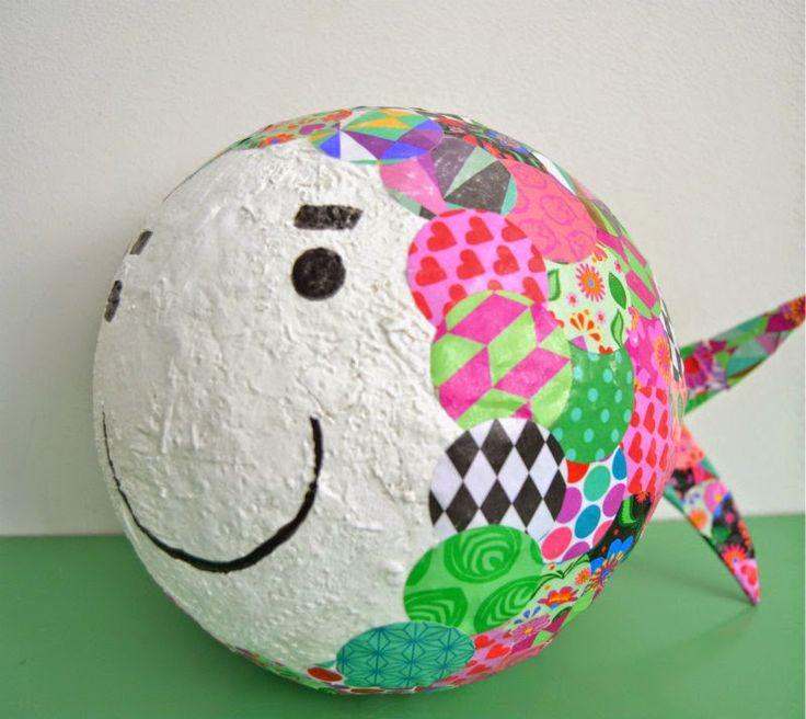 Tamago Craft: Pesciolino papier maché