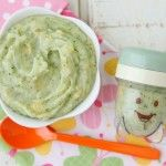 Broccoli Potato Cheese Puree Phase 2 baby food recipes