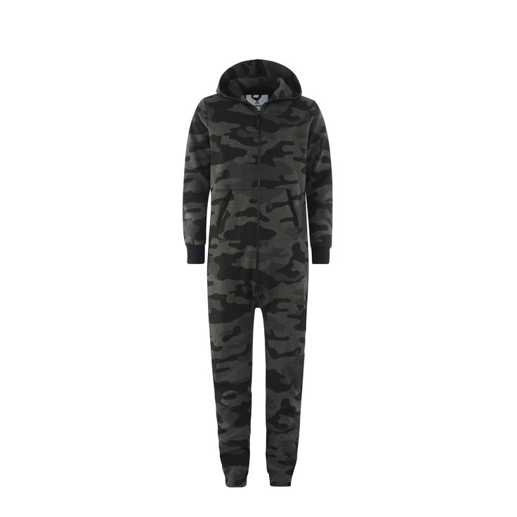 We've taken our classic Camouflage Jumpsuit and made it darker. Way darker. Perfect for late night Navy Seals activities...