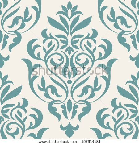 Vector victorian swirl pattern Free vector for free download about ...