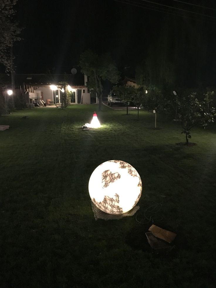 Illuminazione esterna abitazione sul Lago di Bracciano!