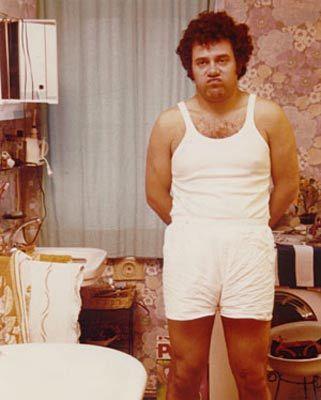 "Carlo Verdone as Pasquale Avetrano, from the early 80's italian cult movie ""Bianco, Rosso Verdone""."