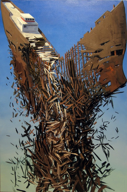 American artist Ben Grasso brings order to chaos. | #Art