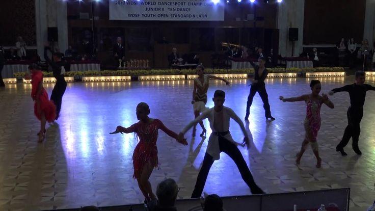 WDSF World Championship Junior II Ten Dance*MARIA SI COSMIN* Semifinal Jive