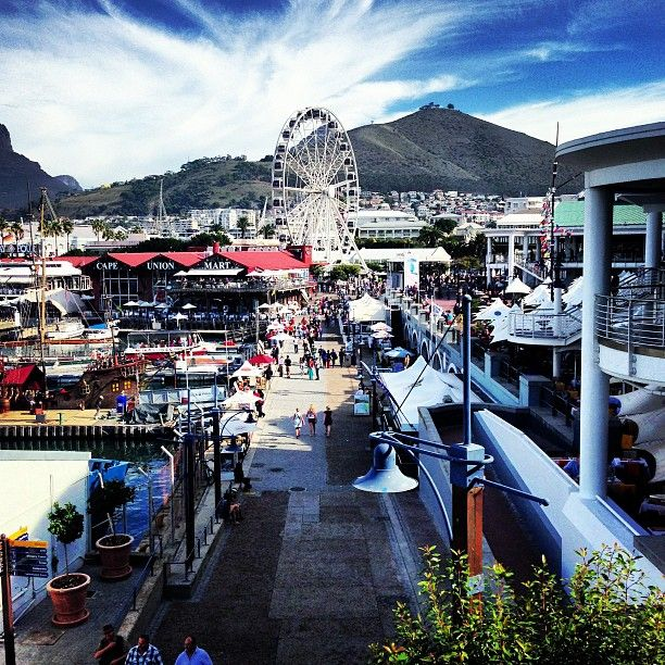 V&A Waterfront in iKapa, Western Cape