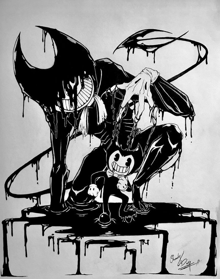 Pin On Bendy And The Ink Machine